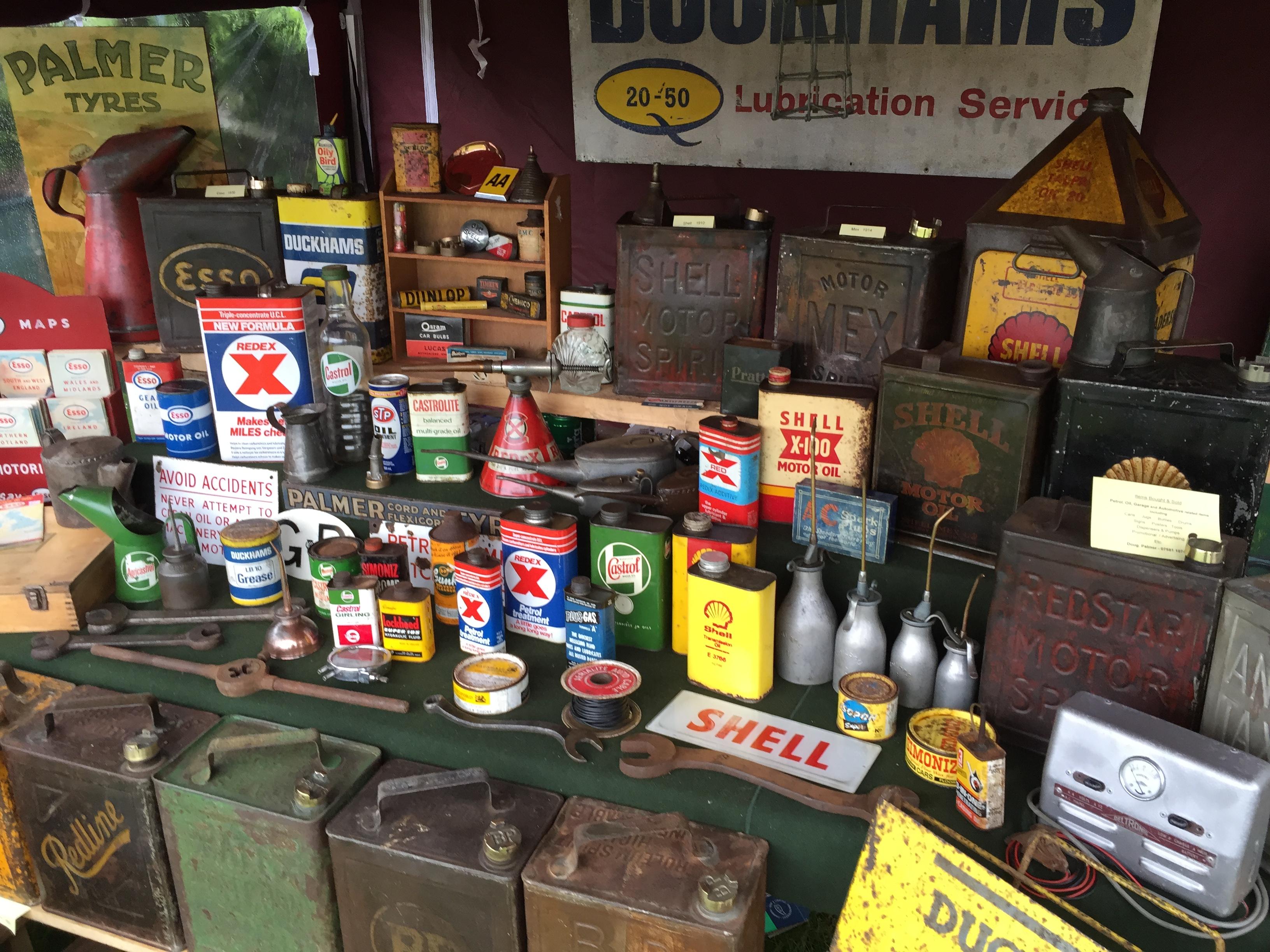 Vintage automobilia garage motoring memorabilia for American classics garage