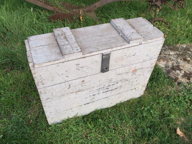 Gilbarco Pump Glass Shipping Crate - Vintage Automobilia