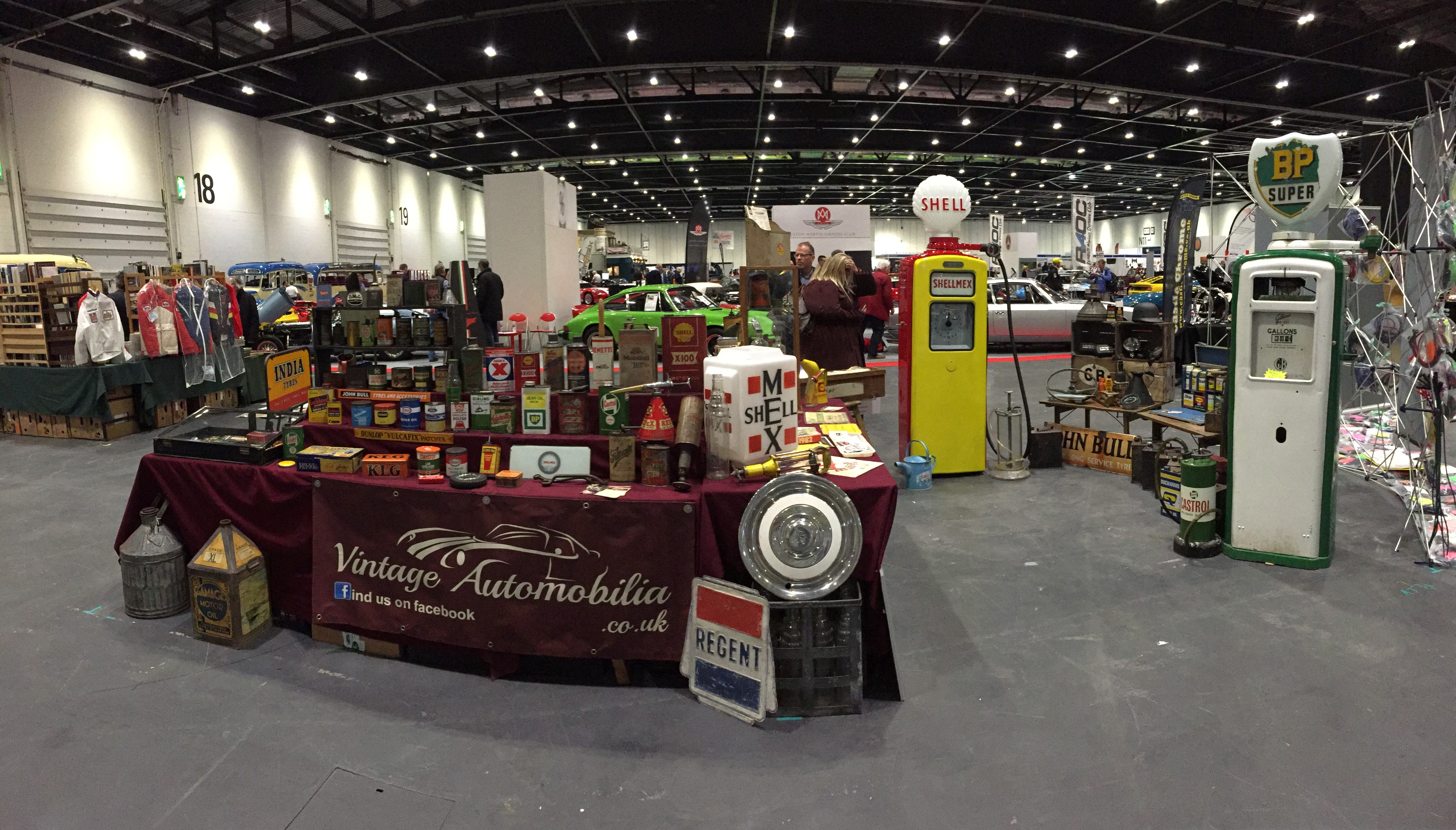 Vintage Automobilia at the London Classic Car Show!